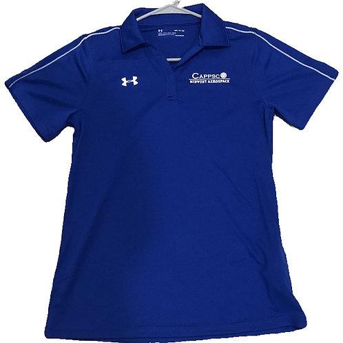 UA Cappsco Womens Polo Blue
