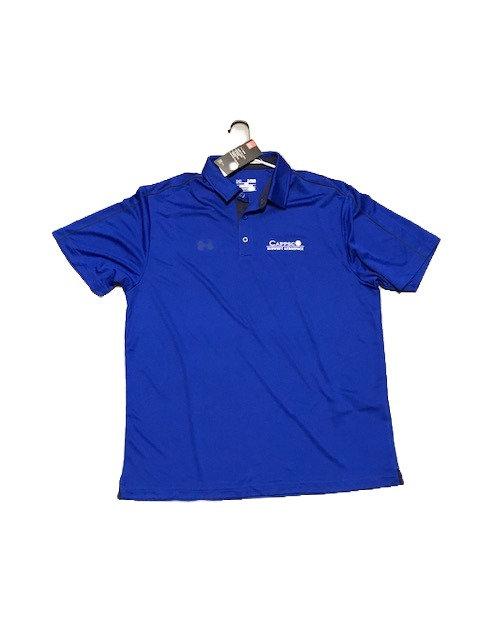 UA Capsco Polo Mens Blue