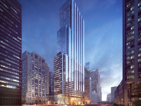 Chicago: Howard Hughes Corp.'s 110 North Wacker plans revealed