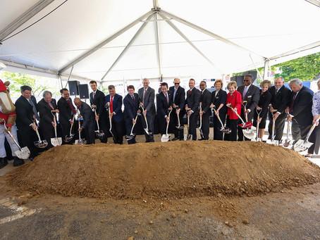 Texas Rangers' Texas Live! breaks ground in Arlington