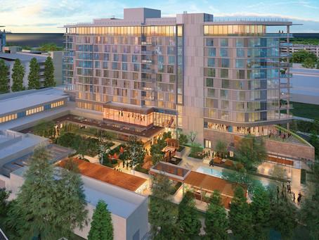 Hotel Nia tops off in Menlo Park, CA