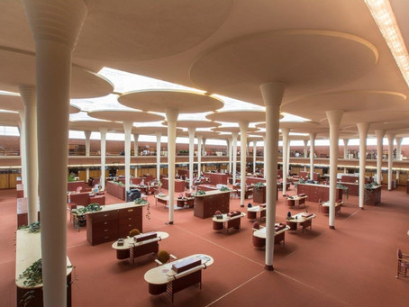 Working in style: The corporate campus designed by Frank Lloyd Wright
