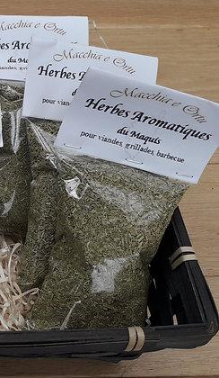 Herbes du maquis pour viandes, grillades et bbq - 40 g