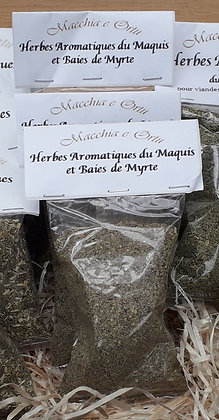 Herbes du maquis et baies de myrte - 25 g