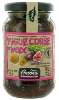 Confiture de Figue et Noix, 350 g