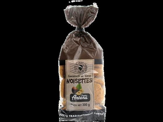 Canistrelli aux Noisettes, 300 g
