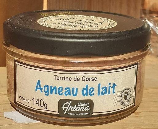 Terrine de Corse - Agneau de lait, 140 g