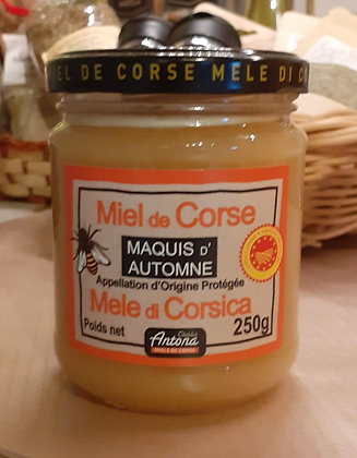 Miel de Maquis d'Automne - 250 g