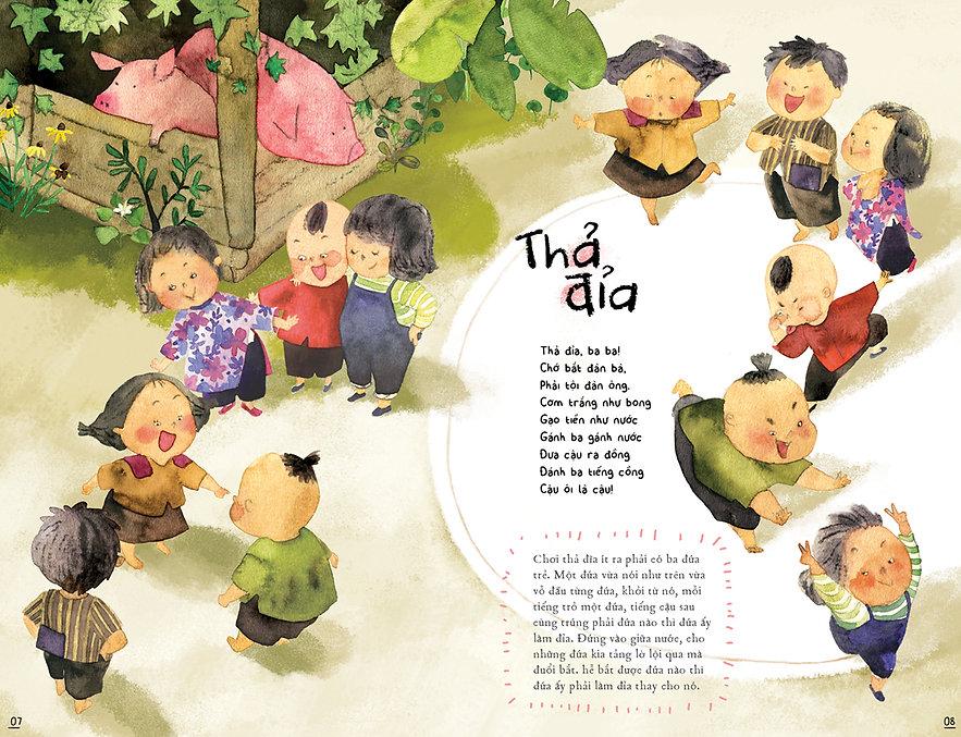 Children sing children play