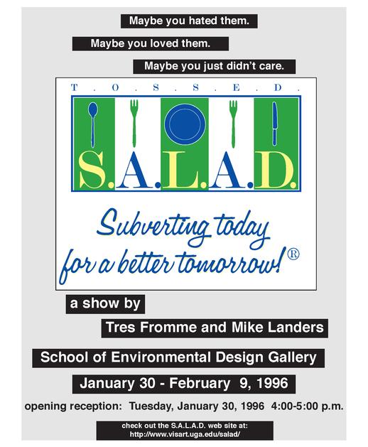 Salad Poster 1996