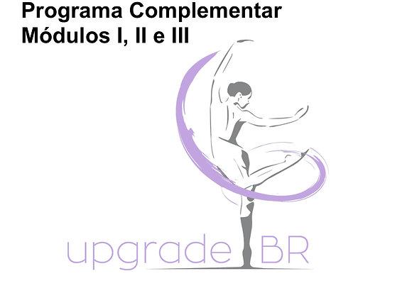 Curso de Capacitação | Programa Complementar | Módulos I, II e III