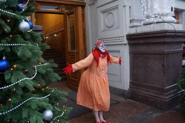 Баба Аня в Рождество
