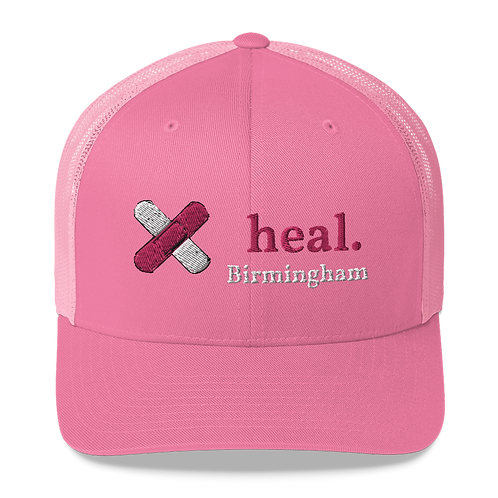 Heal. Trucker Cap 3D Puff Embroidery