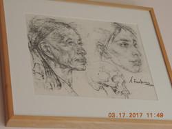 Native American Drawing