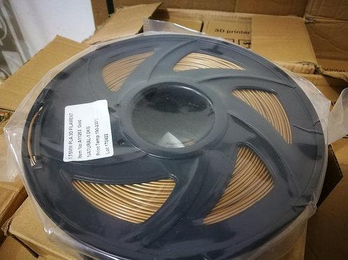 3D Printer Filament - PLA 1.75mm GOLD