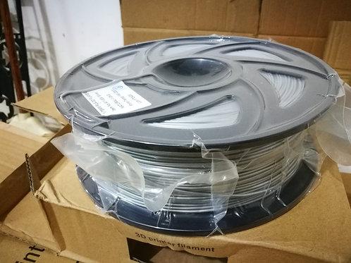 3D Printing Filament - PLA 1.75mm Silver