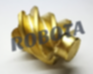 Brass Gear by 4-Axis CNC Router, ترس نحاس راوتر