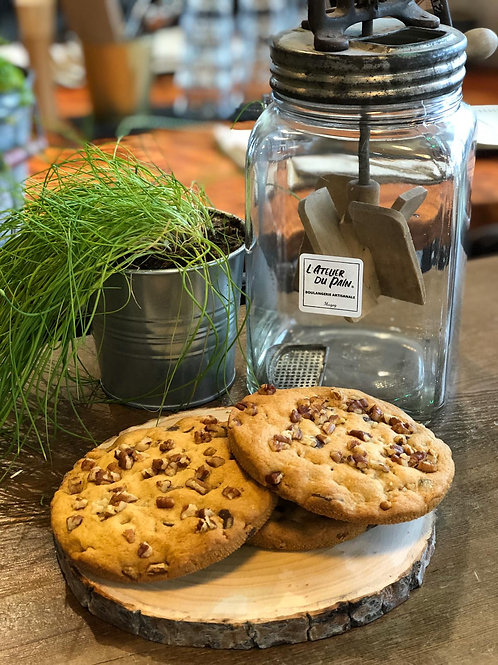 Cookie géant pacan - chocolat