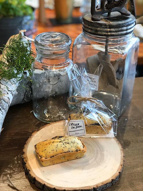 Cake citron & graines de pavot (petit)