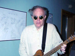 Jeff Calder with Springsteen's Tele