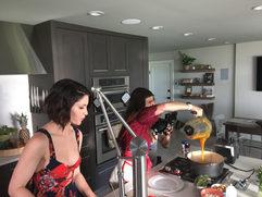 Claudia Deen and Jenna Kinnard Shoot