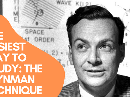 The Easiest Way to Study: The Feynman Technique