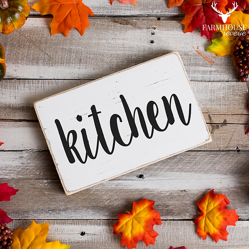 Rustic Kitchen Sign | Farmhouse Kitchen Sign | Vintage Country Sign