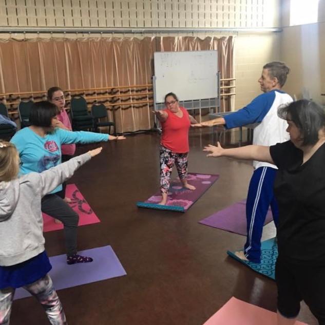 Adapted Yoga Class 13