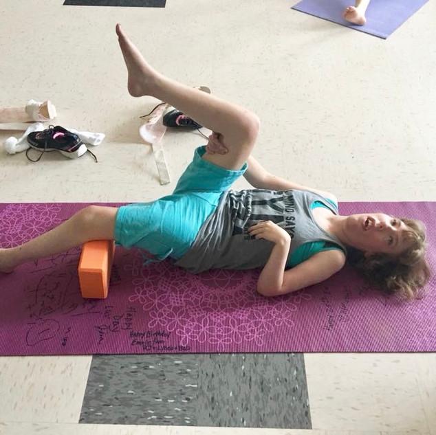 Adapted Yoga Class 11