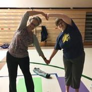 family partner yoga 1