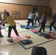 family partner yoga 2