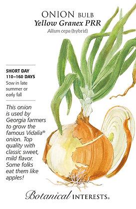 Onion Bulb Ylw Granex Seeds