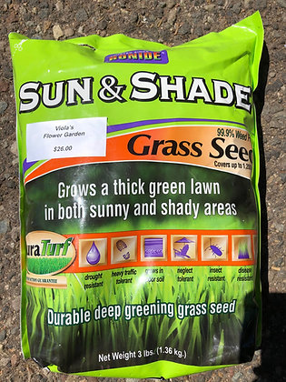 Grass Seed Sun and Shade