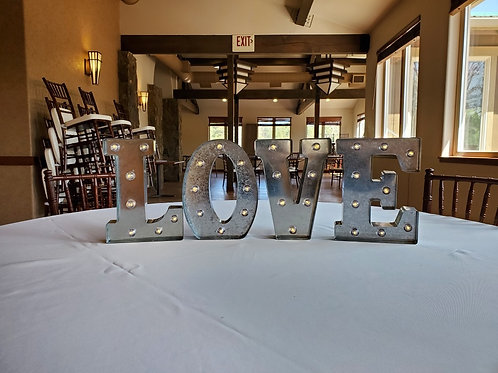Metal Marquee Sign