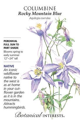 Columbine Rocky Mountain Blue Seeds