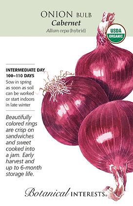 Onion Bulb Red Cab Hybrid Seeds