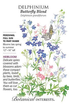 Delphinium Butterfly Blend Seeds
