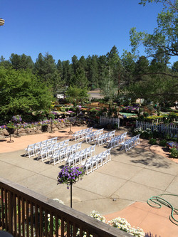 June Wedding Patio