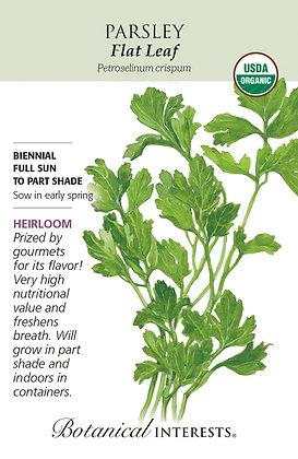 Parsley Flat Leaf Seeds