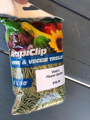 Vine and Veggie Trellis 5' x 30'