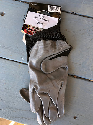 Gloves Large Black&Grey