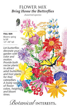 Large-Bring home the Butterflies Mix Seeds