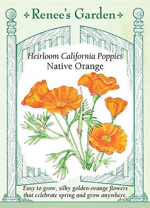 Poppy Cali Native Orange Seeds