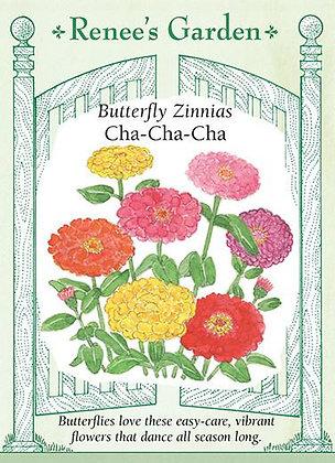 Zinnia Cha-Cha-Cha Seeds