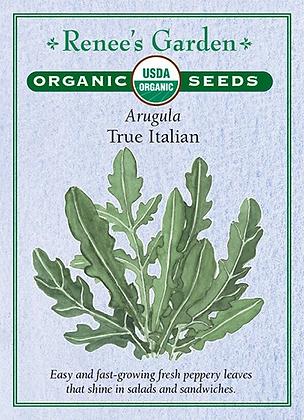 Arugula True Italian Organic Seeds