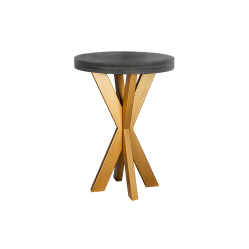 Ebony Starburst Cocktail Table