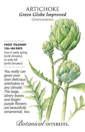 Artichoke Green Globe Improved Seeds