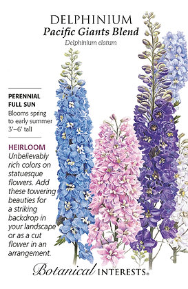 Delphinium Pacific Giant Seeds