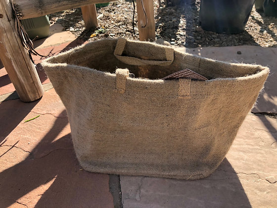 Burlap Organic Planter 3 Gallon