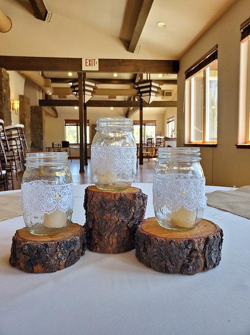Small Pine Wood Slabs